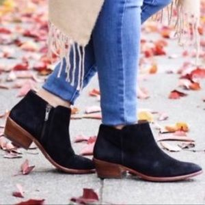 NWT Sam Edelman Petty suede Chelsea boots 5.5